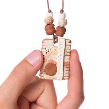 8730Abstract - Clay Pendant Diffuser2