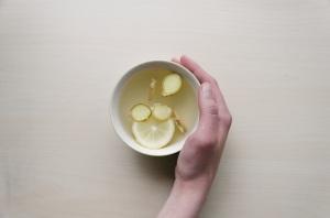 레몬생강차